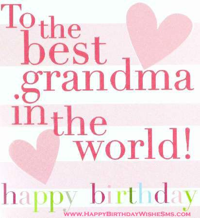 Handmade birthday cards for grandma segerios segerios to the best grandma in the world happy birthday bookmarktalkfo Images