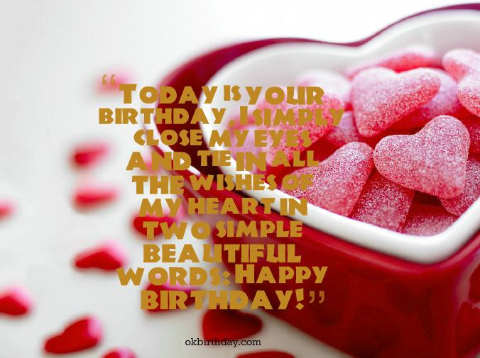 Today Is Your Birthday I Smile Closed My Eyes And Tie In All Happy Birthday