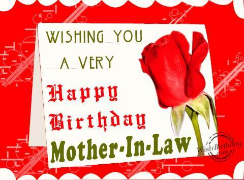 Happy birthday mother in law message wishing you a very happy birthday mother in law m4hsunfo