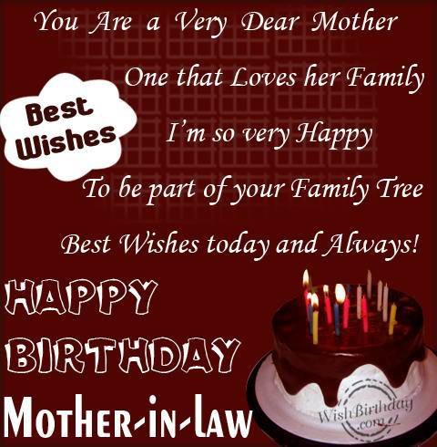 You Are A Very Dear Mother One That Loves Her Family Happy Birthday