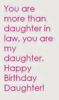 Youre More Than Daughter In Law You Are My Happy Birthday