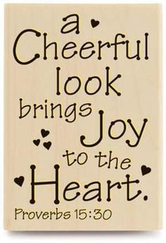 A Cheerful Look Beings Joy To The Heart