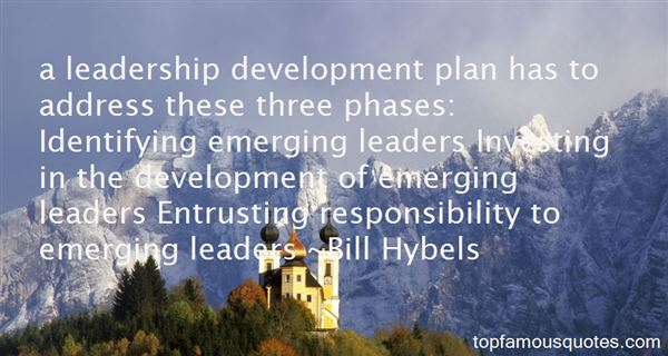 A Leadership Development Plan Has To Address These Three Phases Identifying Emerging Leaders Investing In The Development Of Emerging Leaders