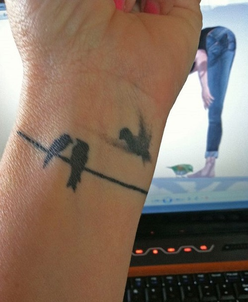 60 most amazing bird tattoos designs and ideas gallery for Bird tattoos on wrist meaning