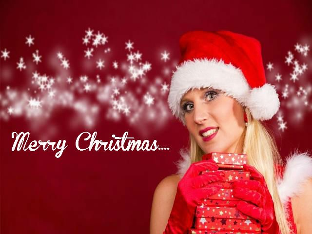 Beautiful Merry Christmas Greeting