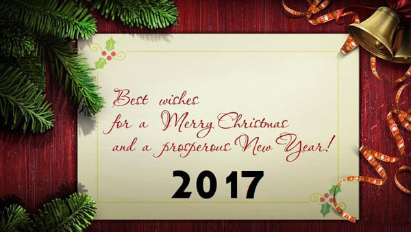 best wishes for a merry christmas and a prosperous new year 2017