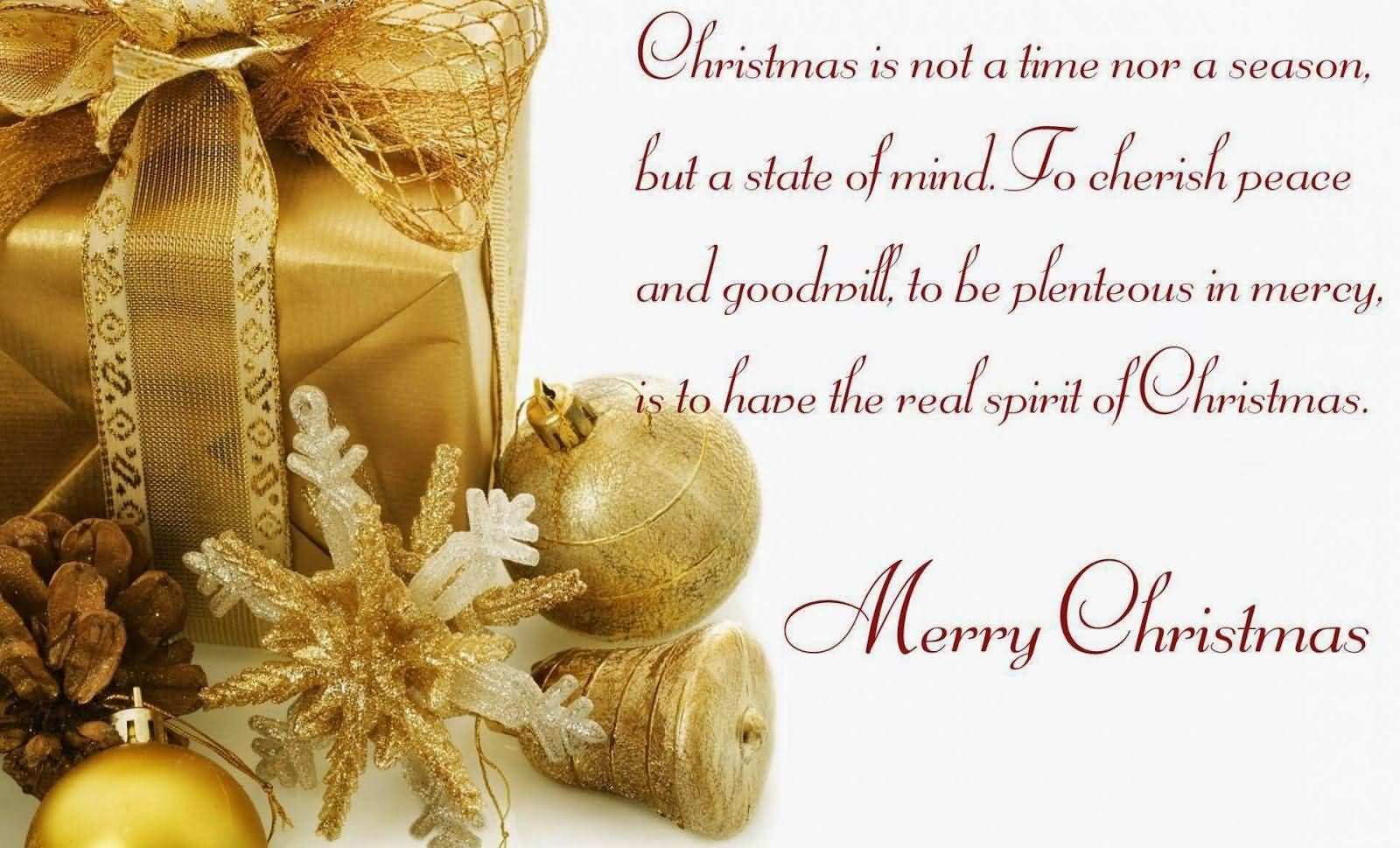 Christmas card sayings quotes segerios segerios christmas is not a time nor a season merry christmas kristyandbryce Choice Image