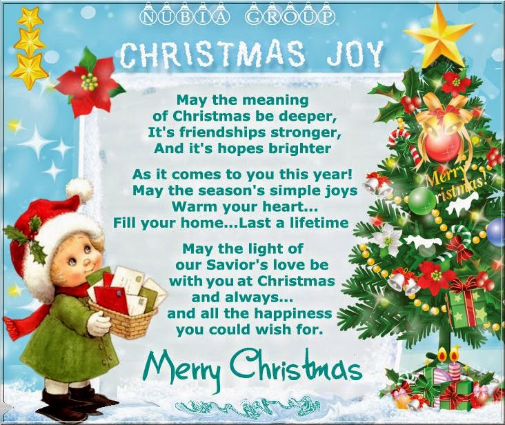 Christmas Joy May The Meaning Of