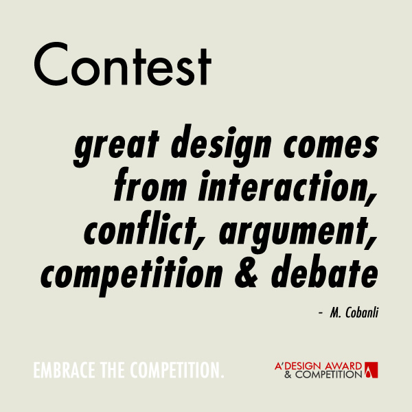 Contest Great Design Comes From Interaction - M. Cobanli