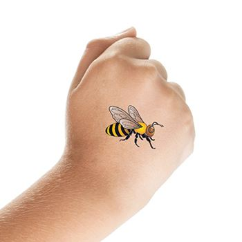 Coolest Animated Bee Tattoo Design Made On Hand