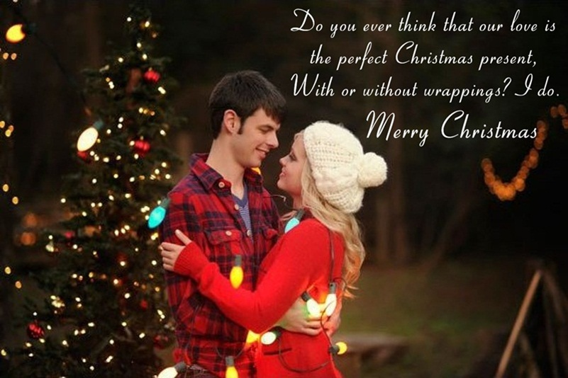 Do You Ever Think That Our Love Is The Perfect Christmas Present Merry Christmas