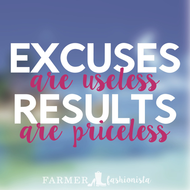 Excuses Are Useless Results Are Priceless