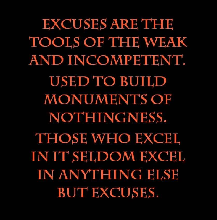 Watch How to Stop Making Excuses video