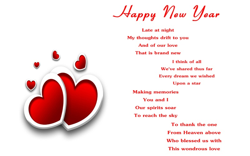 50 Happy New Year Poem & Sayings - Segerios.com ...