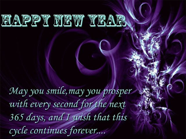 happy new year may you smile may you prosper