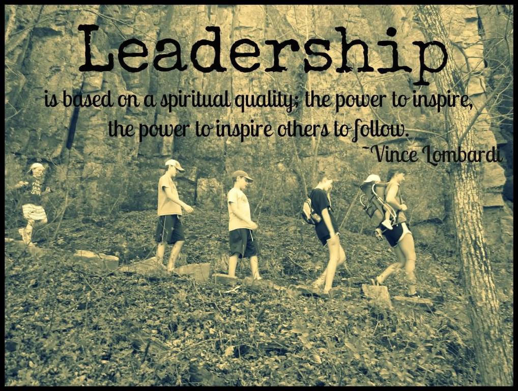 Leadership is based on a spiritual quality; the power to inspire, the power to inspire others to follow