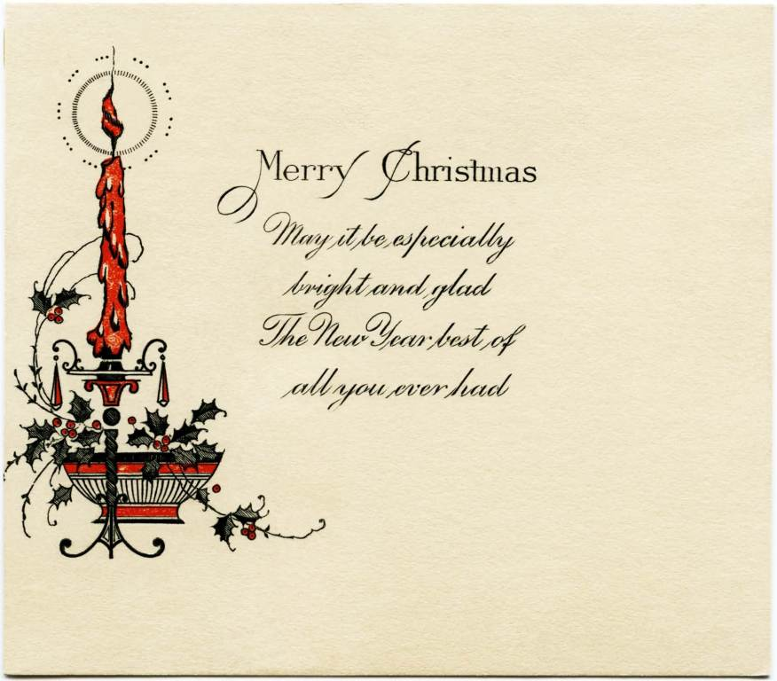 merry christmas may it be especially bright and glad - Religious Christmas Card Sayings