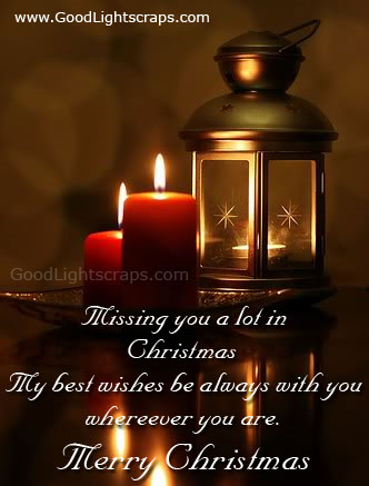 missing you a lot in christmas merry christmas