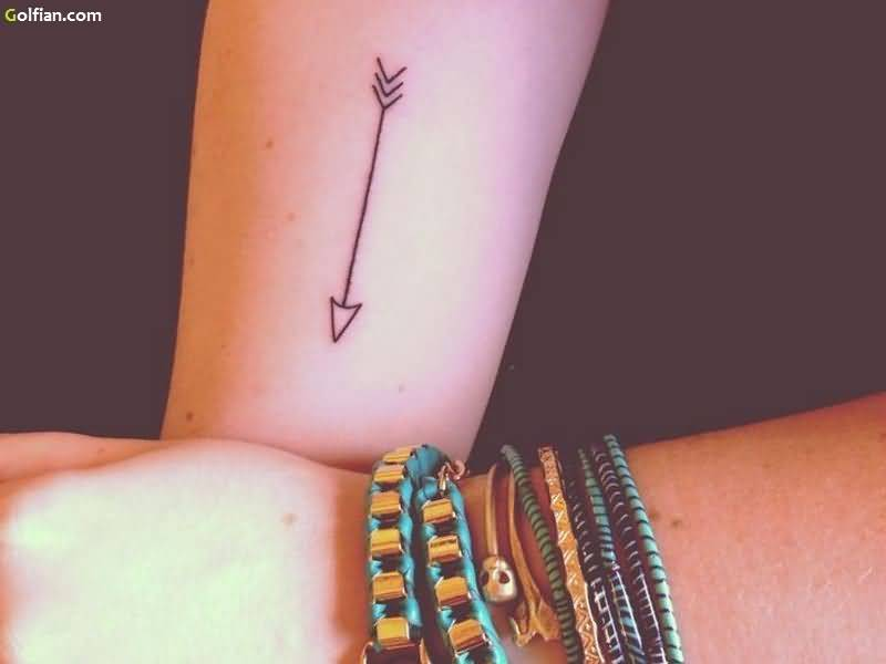 70 most amazing arrow tattoos designs and ideas. Black Bedroom Furniture Sets. Home Design Ideas