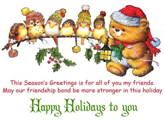 Christmas poems for cards segerios segerios this seasons greetings is for all of you my friends happy holiday to you m4hsunfo