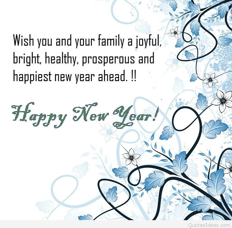 wish you and your family a joyful bright happy new year