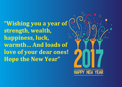 Beautiful Happy New Year Wishes Image