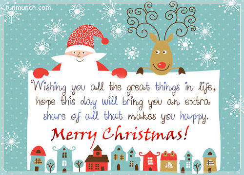 Wonderful merry christmas quotes segerios