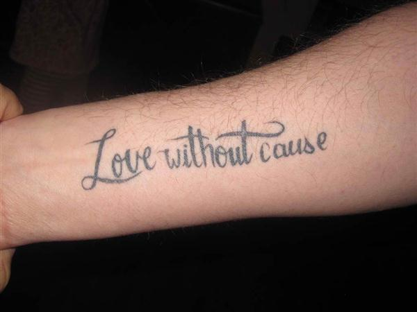 03 Love Quotes Tattoo