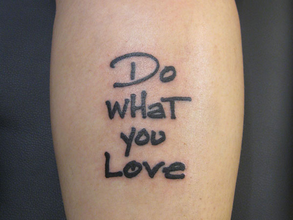 07 Love Quotes Tattoo