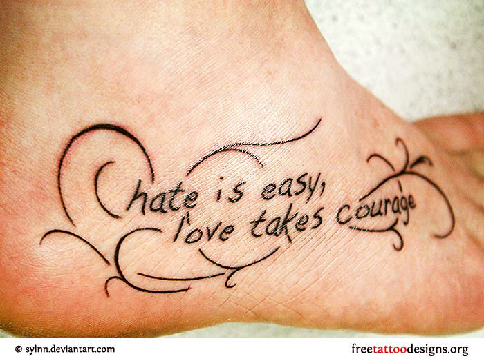 15 Love Quotes Tattoo