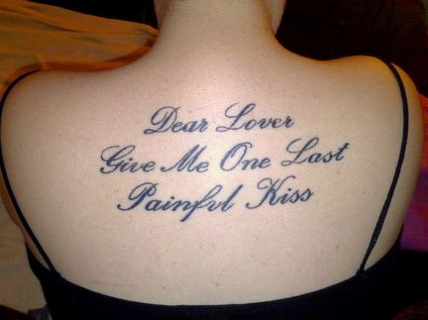 16 Love Quotes Tattoo