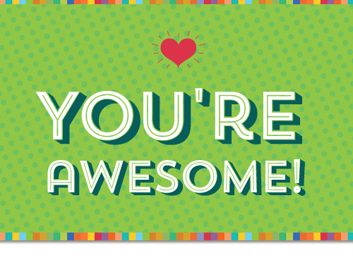 who s awesome you re awesome