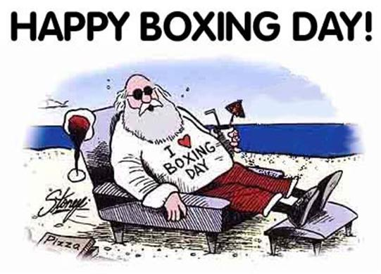 Boxing Day Wishes 24