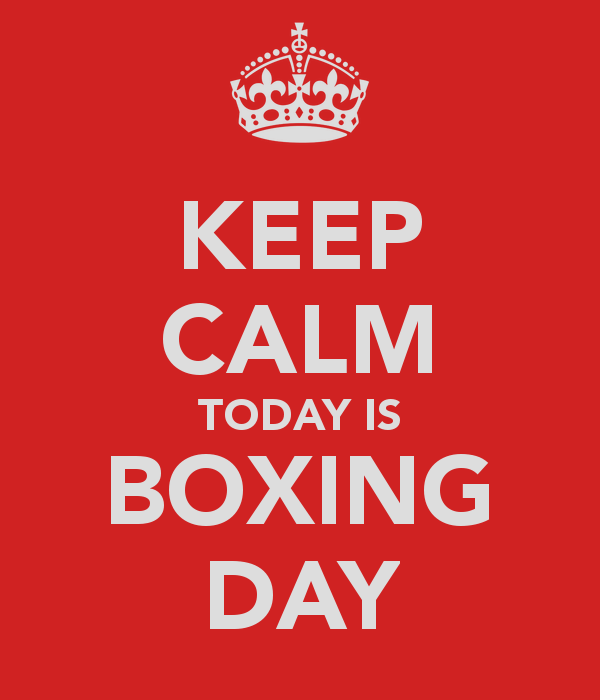 Boxing Day Wishes 25
