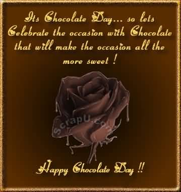 Chocolate Day Wishes 03