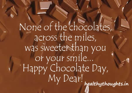 Chocolate Day Wishes 16