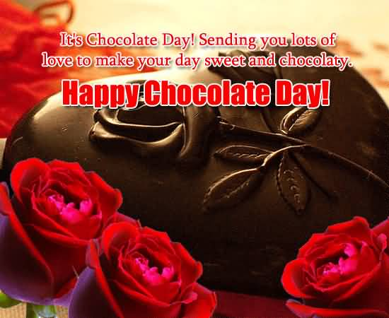 Chocolate Day Wishes 22