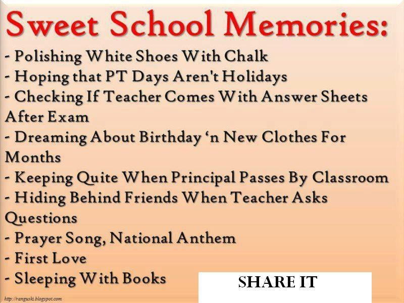 Sweet School Memories Polishing White Shoes With Chalk