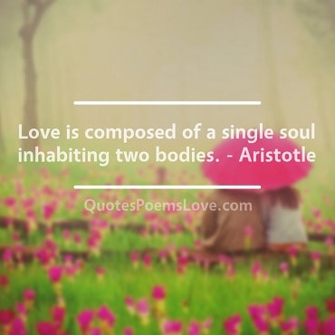 Famous Cute Love Quote