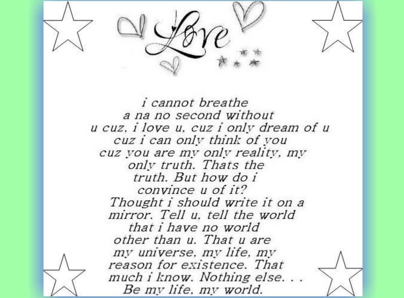 Romantic poems most love The 20