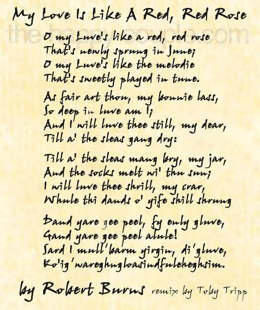 Famous Love Poem For Husband