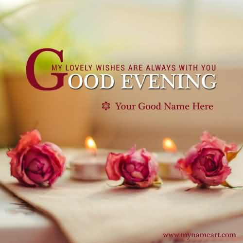 Good Evening Wishes 03