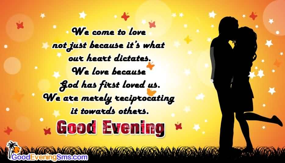 Good Evening Wishes 13