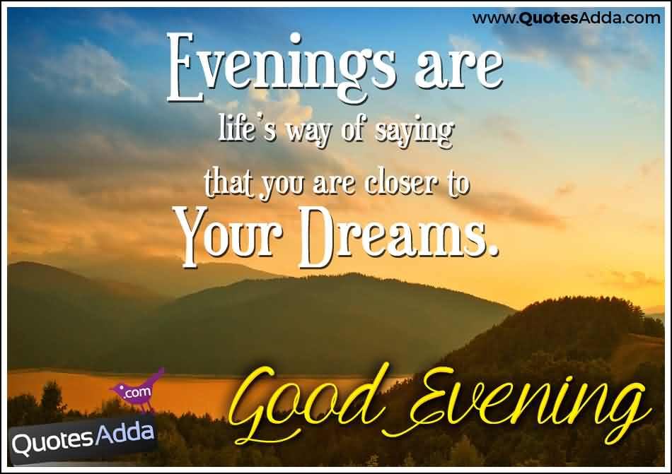 Good Evening Wishes 25