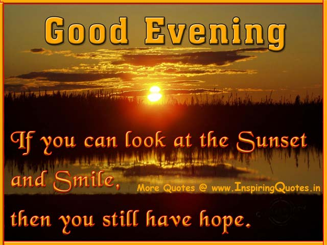 Good Evening Wishes 28