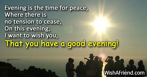Good Evening Wishes 42