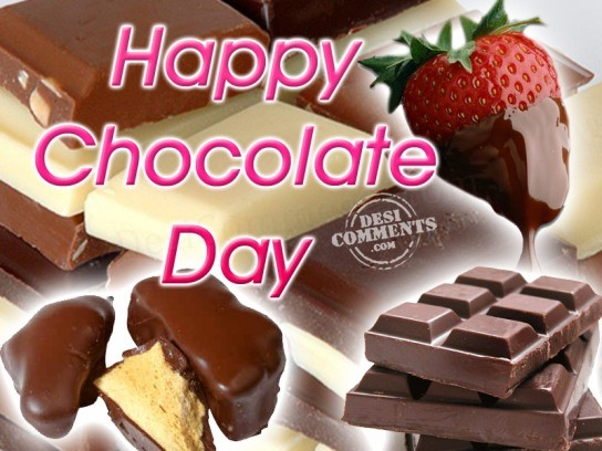 Happy Chocolate Day Wishes 17