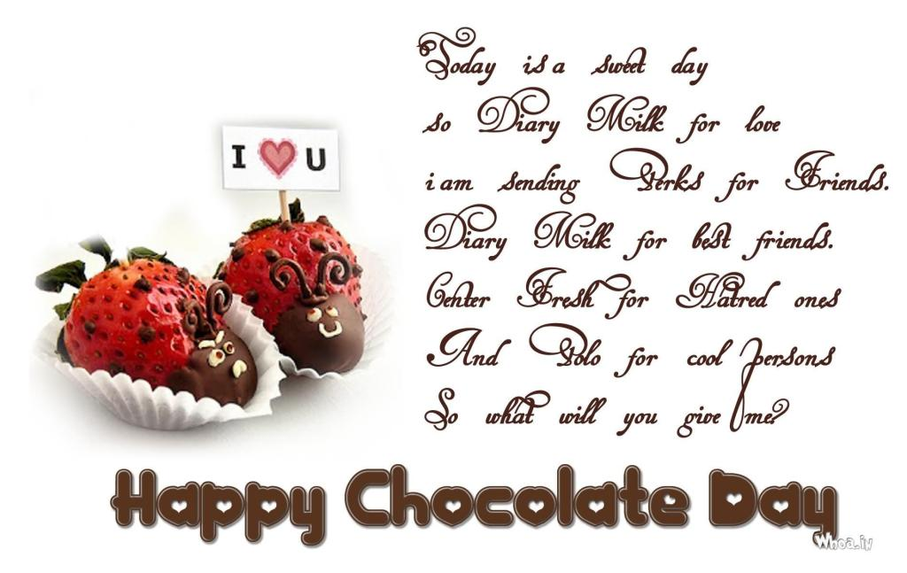 Happy Chocolate Day Wishes 18