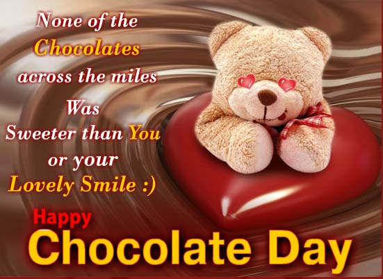 Happy Chocolate Day Wishes 23