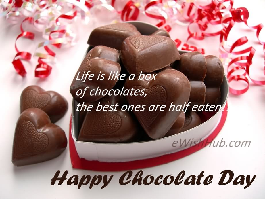 Happy Chocolate Day Wishes 27